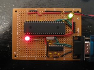 dsPIC30F4011 Prototyping Board - FoxyTronics